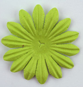 Lime Green 5cm Single flower