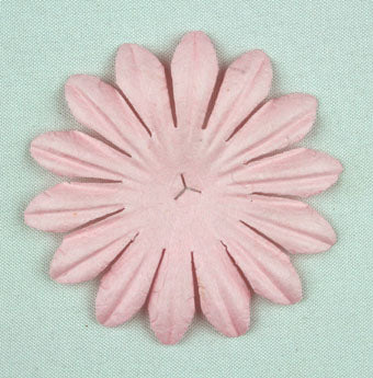 Pale Pink 5cm Single flower