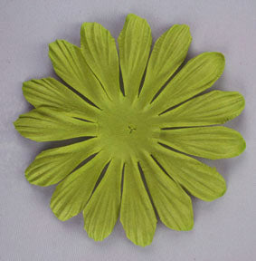 Lime Green 10cm Single flower