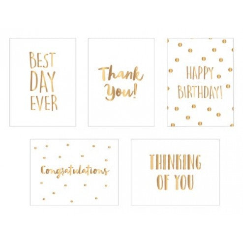 Spring Fling Foiled Vellum Quote Cards