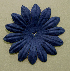 Midnight Blue 5cm Single flower