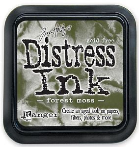 Tim Holtz Distress Ink Pad - Forest Moss