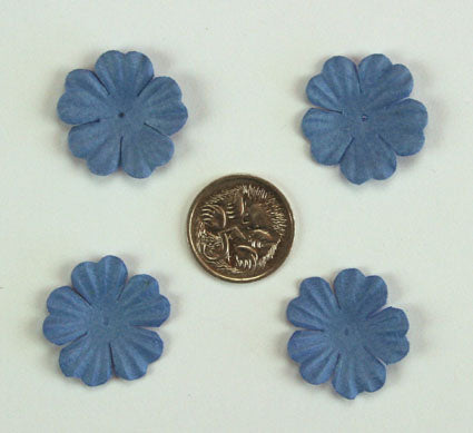 Wedgewood Blue 2.5cm single flower