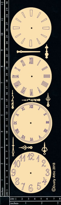 Clock Faces and Hands