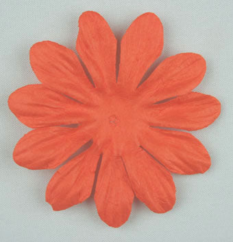 Orange 6cm Single Flower