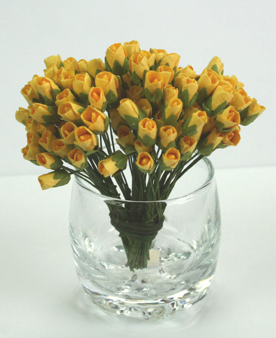 Mini Rosebud Yellow