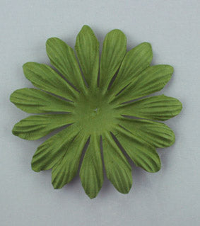 Green 10cm Single Flower