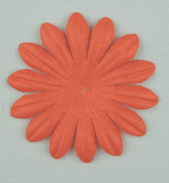 Orange 5cm Single Flower