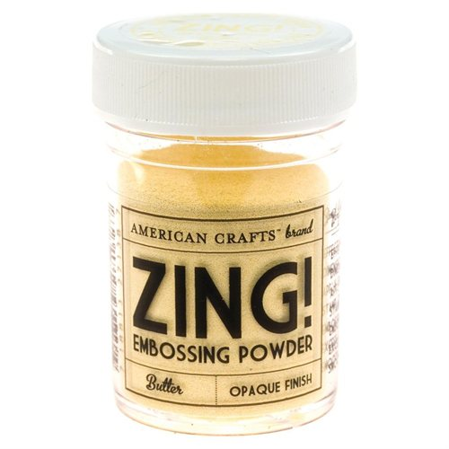 Zing! Opaque Embossing Powder - Butter