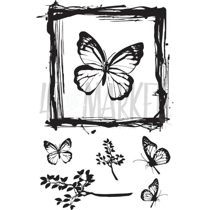 "Clear Stamps 4""X6"" - Gerry's Butterflies"