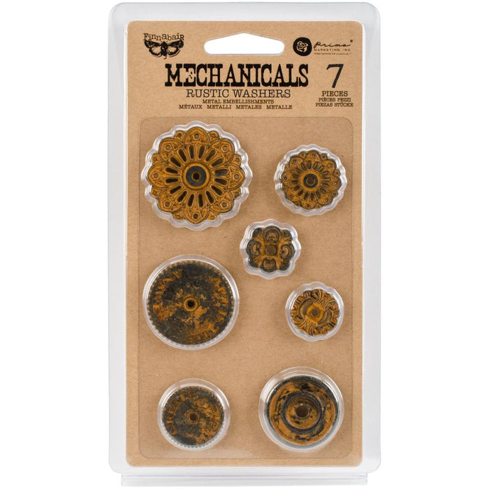 Finnabair Mechanicals - Rustic Washers