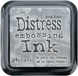 Tim Holtz Distress Ink Pad - clear for embossing