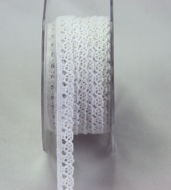 Lace Ribbon - White