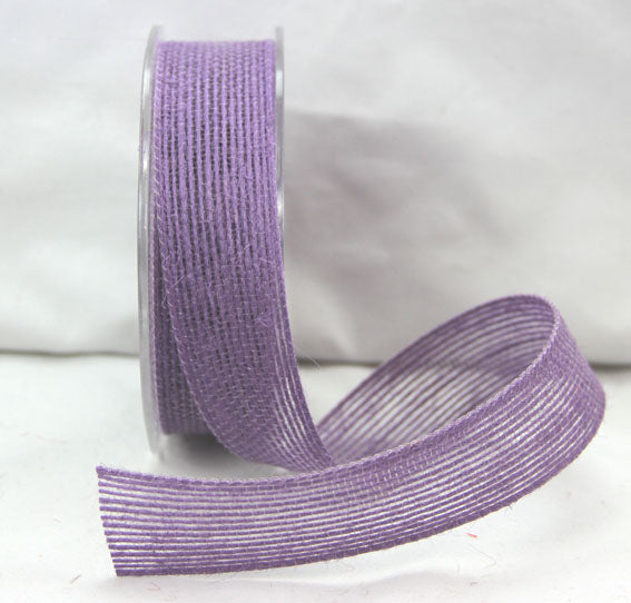 Natural Jute Ribbon - Violet