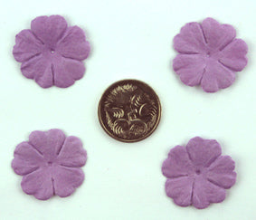 Lavender 2.5cm Single Flower