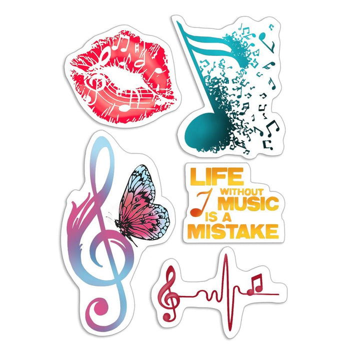 Clear Stamps -Music Life
