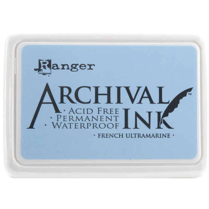 Archival Ink Pad #0 - French Ultramarine