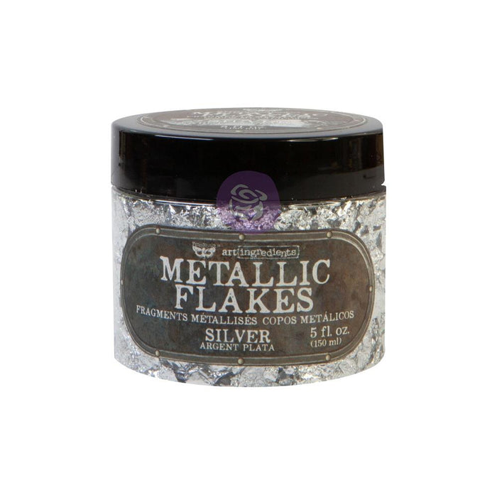 Art Ingredients Metal Flakes - Silver