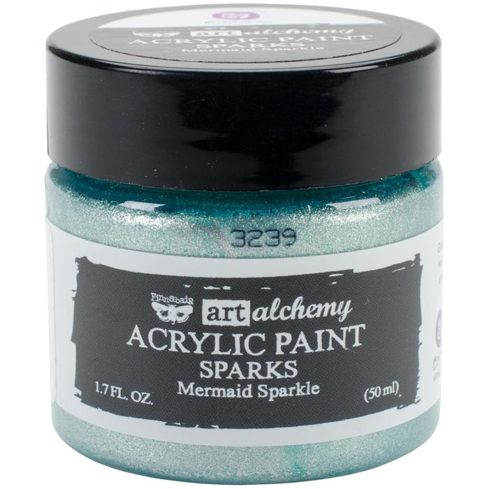 Art Alchemy Sparks Acrylic Paint - Mermaid Sparkle
