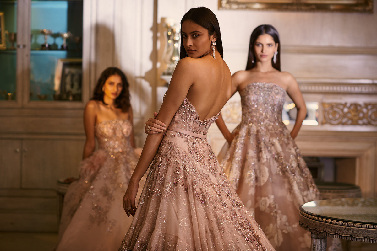 Dolly J Bespoke Couture Bridal Lehengas Gowns Kalidars Dollyj Studio