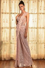 """Sweet Lola"" Chantilly Drape Saree"
