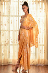 """Amoudi Ray"" Chiffon Drape Saree"