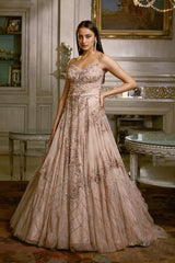"""Switlana"" Shimmer Tulle Bridal Gown"