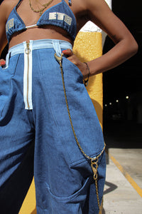 Denim Hip huggers