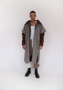 Reversible Cape Jacket