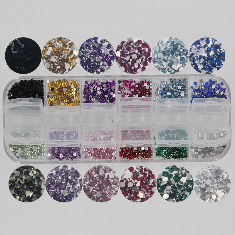 Round Crystal Rhinestones(2000 pieces)
