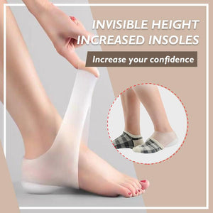 Invisible Height Increased Insoles (New Year's Day Promotion-50% OFF)