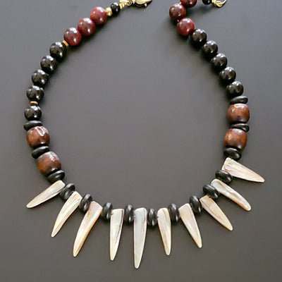 Men's Claw Tribal Necklace