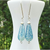 Speckled Glass Earrings