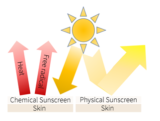 how sunscreens protect skin from UV rays