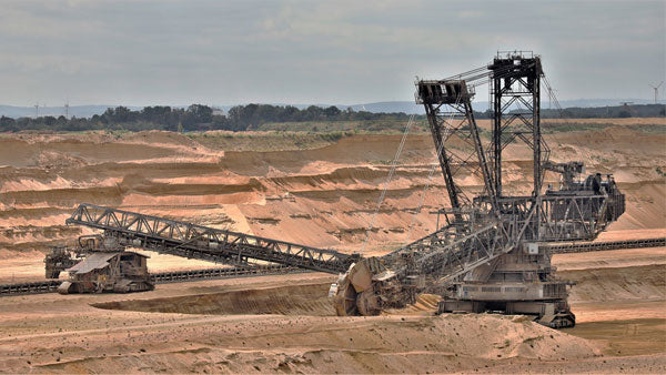 sand mining and sand excavation to meet the world's demand for sand