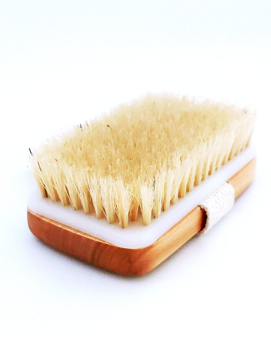 Skin Dry Brush with Vegan Bristles - Rain Organica