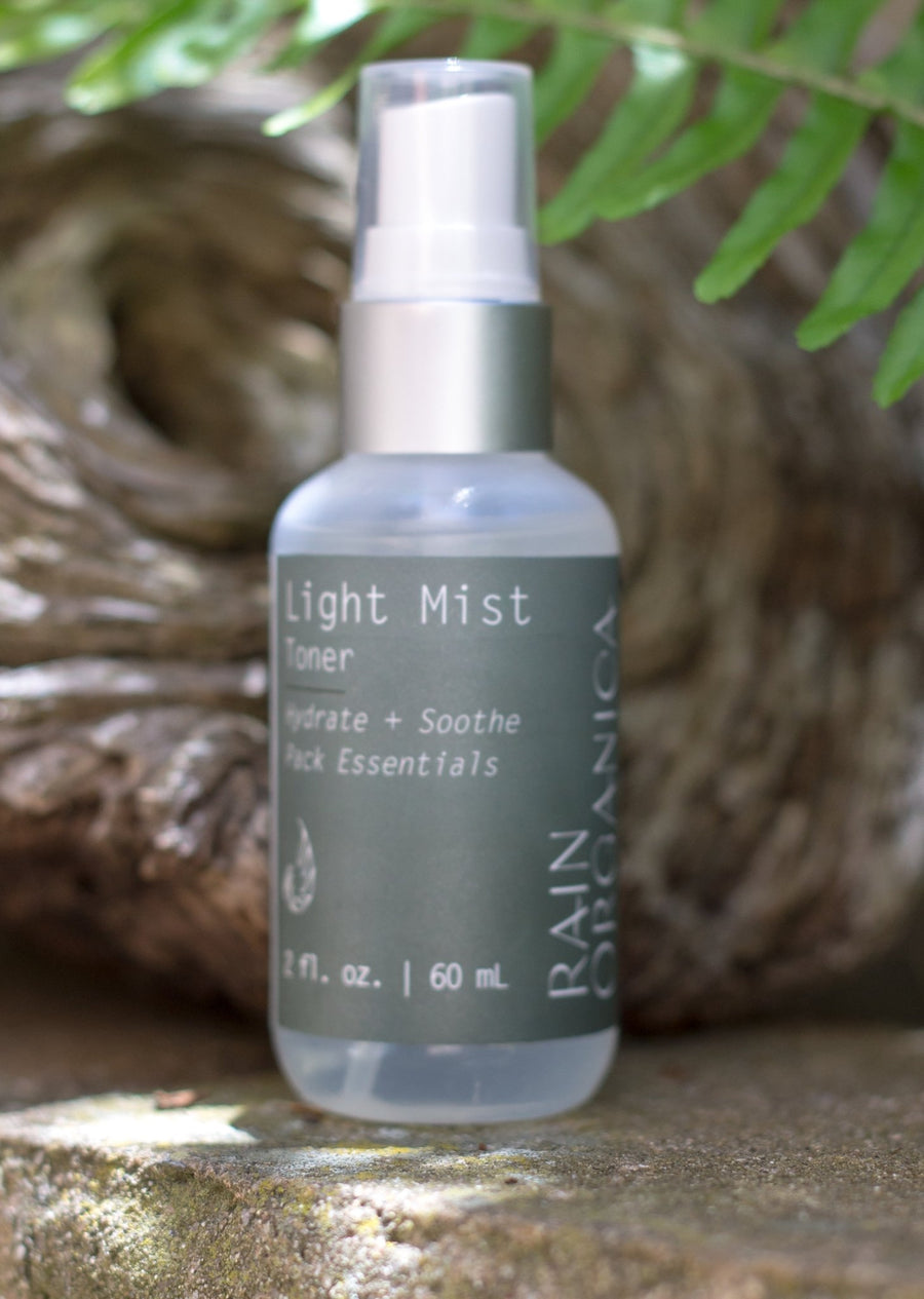 Light Mist Toner with Vitamin C, cucumber, and rosewater