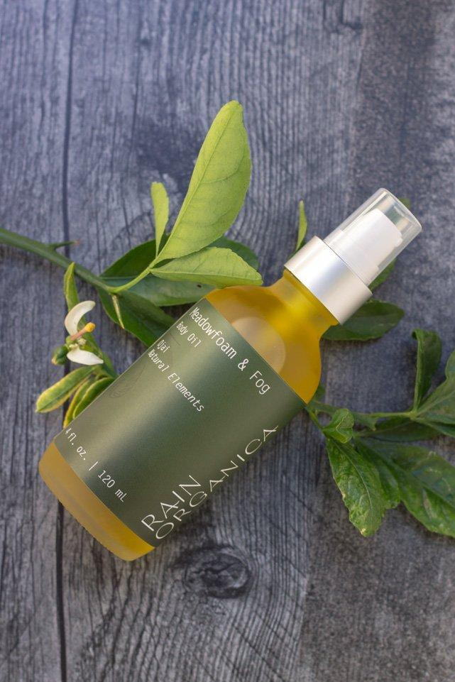 Meadowfoam + Fog Body Oil - Rain Organica