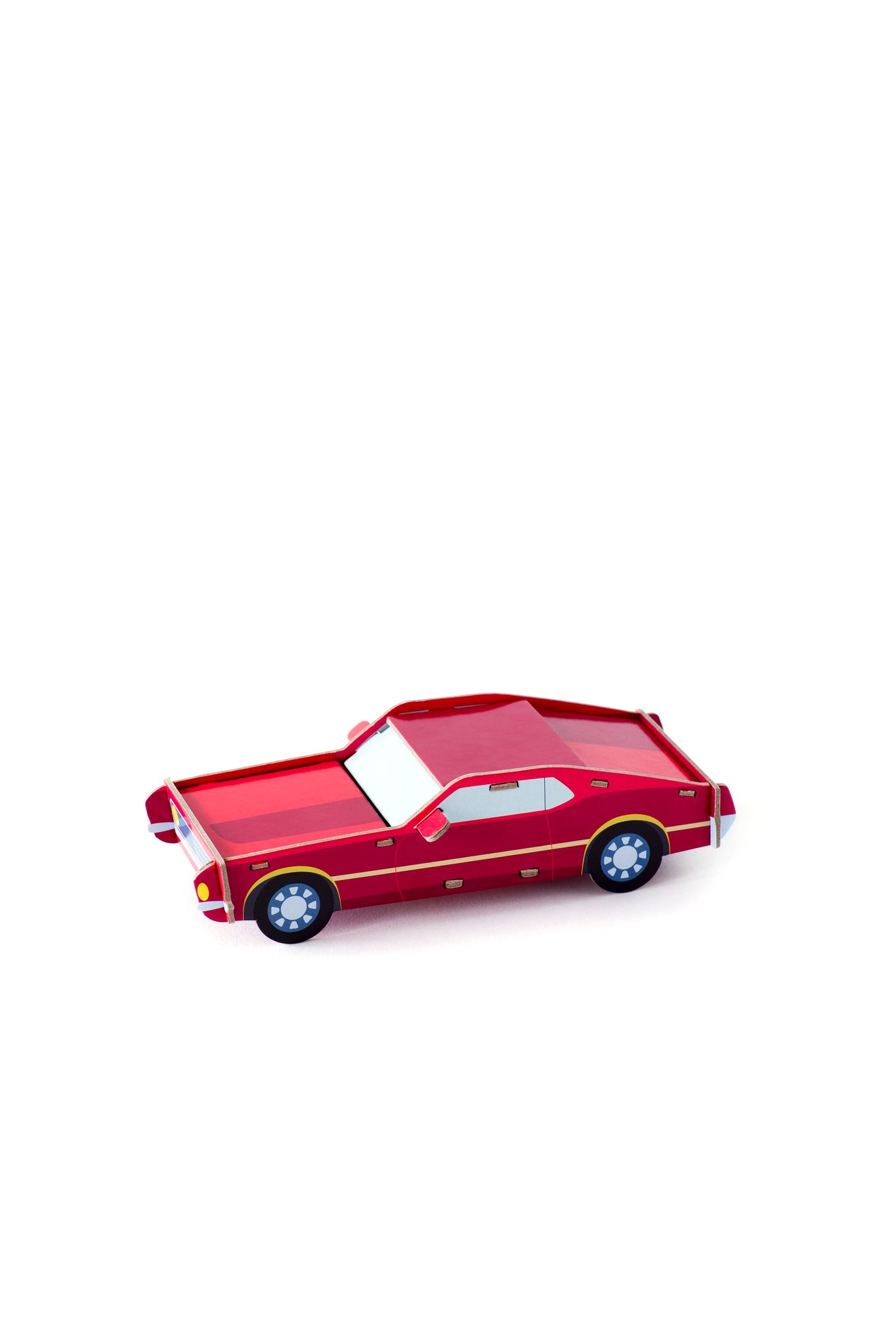 3D model auta - Klasika Ford Mustang