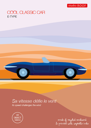 3D model auta- Klasika Jaguar E-Type