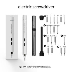 22-IN-1 ELECTRIC SCREWDRIVER
