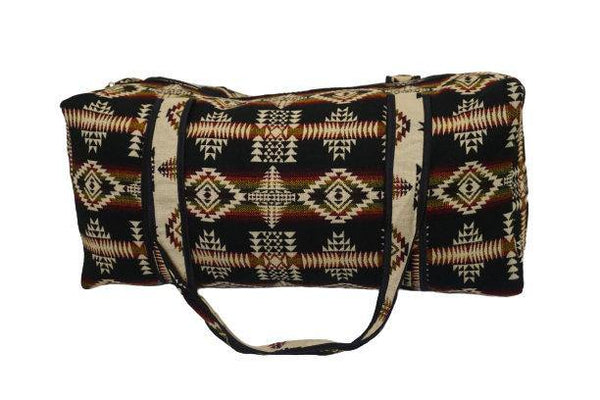 Luggage | Brown Black Beige Green Large Hippie Duffel Bag | Bohemian Duffel Bag | Tribal Gym Bag | Yoga Bag | Llama Bag