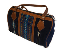 Suede Leather Bag | Tribal Handbag | Boho Bag | Black Hippie Shoulder Bag