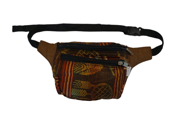 Fanny Pack | Boho | Brown Tribal Earth Tones Fanny Pack | Festival Fanny Pack | Halloween | Gift for Her | Halloween | Gift for Her
