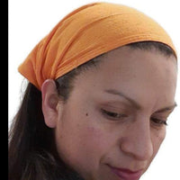 Small Boho Headband | Solid Orange Boho Headband | Boho Hairband