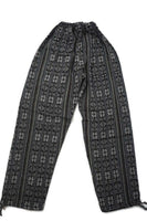 Tribal Mens Pants | Womens Pants | Hippie Pants | Boho Pants Size L | Black White