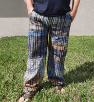 Pants Size M | Hippie Pants | Mens Pants | Festival Pants | Dark Colors