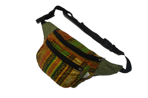 Fanny Pack | Halloween | Gift for Her | Festival Hip Bag | Womens Fanny Pack | Light Green Boho