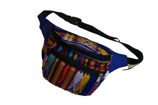 Fanny Pack | Boho | Halloween | Gift for Her | Blue Colorful Fanny Pack Men | Festival Hip Bag | Womens Fanny Pack