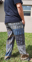 Pants Size XL | Hippie Pants | Womens Pants | Mens Pants |Yellow Blue